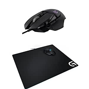 pack logitech gaming souris gaming g502 rgb proteus spectrum tapis de souris g640. Black Bedroom Furniture Sets. Home Design Ideas
