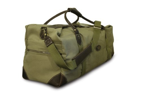 Safari Weekender (ROGUE LONG WEEKENDER CANVAS/ LEATHER BAG OLIVE RTG-2L)