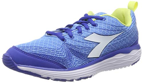 Diadora Flamingo W, Zapatillas de Running para Mujer, Azul (Iris BLU Bianco), 41 EU