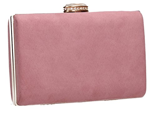 SwankySwans , Damen Clutch One Size Blush Pink