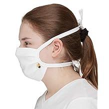 loud + proud Unisex 10 Binden mond- en neusmaskers, wit, one zize