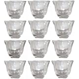 Arabic coffee cups transparent color 12 cups