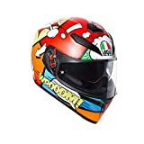 AGV Helmets Motorradhelm K-3 Sv E2205Multi Plk Balloon, mehrfarbig, Pinlock,...