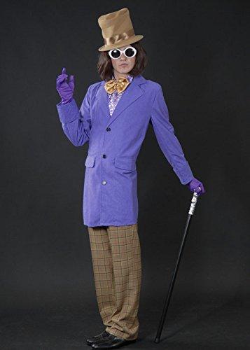Magic Box Int. Erwachsene Willy Wonka Stil Fabrik Besitzer Kostüm XL (44-46