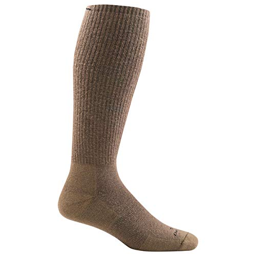 Darn Tough Tactical Over the Calf Extra Cushion Sock - Coyote Brown Small