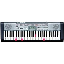 Casio LK-130K7 - Teclado electrónico con 61 teclas, 100 melodías y 100 preajustes, color negro