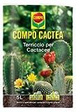 Compo Sana 4008398103866 Terriccio Specifico per Cactacee Confezione da 5 Litri