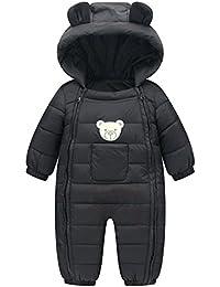 M&A Bebé Recién Nacido Abrigo Ropa Una Pieza Peleles Pijamas Mameluco Algodón Disfraz Oso
