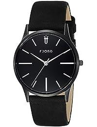 Fjord Analog Black Dial Men's Watch- FJ-3028-01