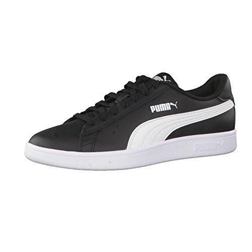 Puma Unisex-Erwachsene Smash V2 L Sneaker, Schwarz, 43 EU