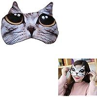 Augenmaske Katze Schlafmaske Mädchen Office Augen-Abdeckung für Schlafen preisvergleich bei billige-tabletten.eu