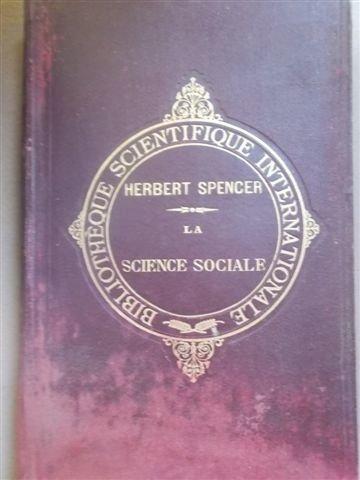 Introduction à la science sociale. Libraire Germer Baillière. 1903. (Sociologie, Sciences sociales)