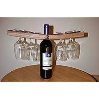 Weinglas-Halter aus dem französischen recyceltes Eichenholz Weinfass