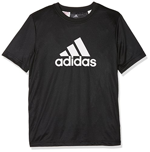 adidas Jungen Training Gear Up T-Shirt, Black/White, 152