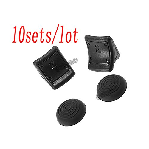 Knochensattel/Lot Hot Sale 4in 1Gamepad Teile-no2erhöhter Schlüssel Rocker Fit für PS3Playstation 3Reparatur Controller Tasten