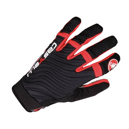 Castelli Cw. 6.0 Cross Glove - Noir/Rouge