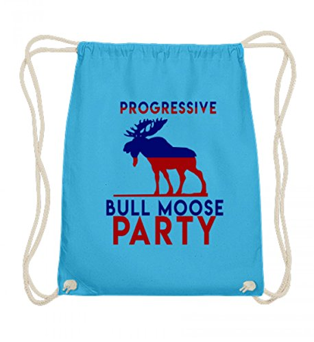 Gymsac - Progressive Bull Moose Party - Schlichtes Und Witziges Design (Bull Outfit)