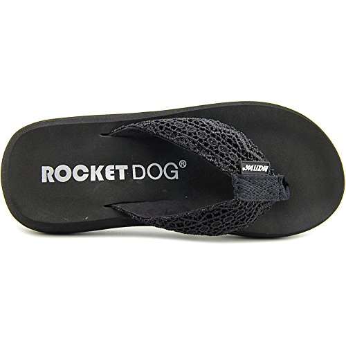 Rocket Dog Spotlight Toile Tongs Black Lima