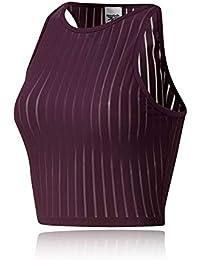 Amazon.fr   Reebok - Soutiens-gorge de sport   Sous-vêtements de ... 5bcee514204