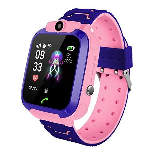 Touchscreen Kinder Smart Watch Wasserdichtes Intelligentes Bracelet Armband Kinder Uhren Armbanduhren SOS GPS Positioning Taschenlampe Call Watch, Für Jungen Mädchen Geburtstagsgeschenke