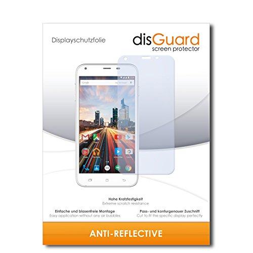 disGuard® Bildschirmschutzfolie [Anti-Reflex] kompatibel mit Archos 55 Helium+ [4 Stück] Entspiegelnd, Matt, Antireflektierend, Extrem Kratzfest, Anti-Fingerabdruck - Panzerglas Folie, Schutzfolie