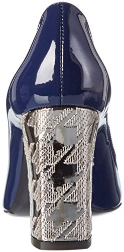 Pollini Shoes SA1022, Scarpe con tacco Donna Blu (Ocean 75A)