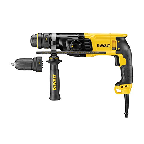 Dewalt is a company that boasts itself in the manufacture of strong durable products, any professional tradesmen will be familiar with DeWalt and there very high quality tools and reputation. The Dewalt D25134K-GB DRILL is no different, it's a strong efficient hand drill that is perfect for anchor, fixing and drilling holes into both concrete and masonry with a diameter of 26mm.