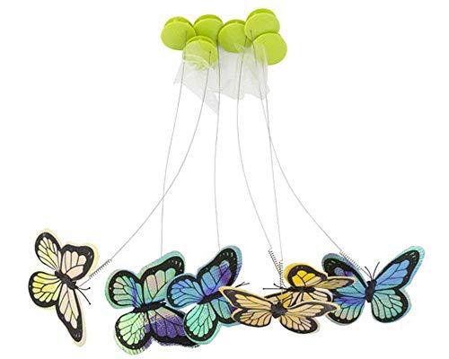 All for Paws, 6er-Nachfüllpack Schmetterlinge für interaktives Katzenspielzeug