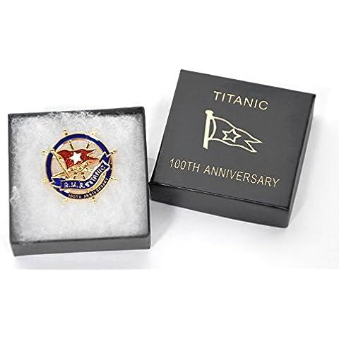 Pin esmaltado del 100 aniversario del Titanic, edición limitada