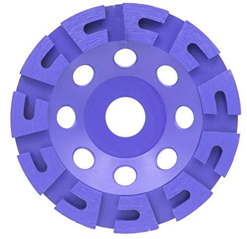 Mola diamantata, diametro 125 mm, profilo a U per la lavorazione di ceramica, marmo, cemento, pietra naturale e pietra artificiale