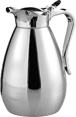 Esmeyer 305-001 Bouteille Isotherme PALACE, capacité : 0,65 litre en inox, incassable. Hauteur : 195 mm