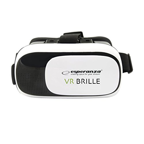 Esperanza Virtual Reality Brille für 3,5 – 6 Zoll Smartphones – 360° VR Box - virtuelle...