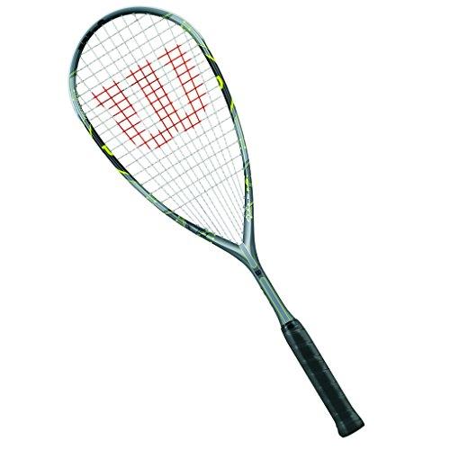 Wilson Squash-Schläger, Damen/Herren, Anfänger, Force 145, WRT911630, Grau/Silber