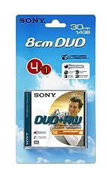 Sony 8cm Dvd+rw 30 Min - 4 Pack Plus One