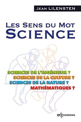 Les sens du mot science