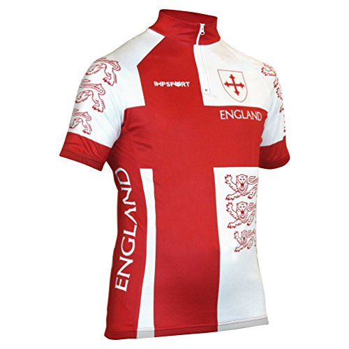 Impsport England National Cycling Jersey Mens & Ladies Sizes