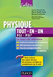 Physique tout-en-un PSI-PSI* - 2e éd. - Le cours de référence