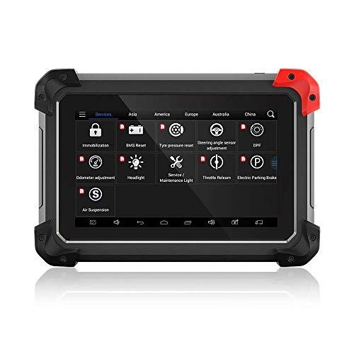 ZTWQWERT Auto-Codeleser, Computerkomplettsystem-Diagnosewerkzeug, Auto Bluetooth Automatik-Taste Programmer for das Lesen und Clearing-Codes, mit verschiedenen Sprachen