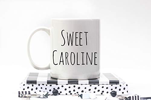 Sweet Caroline Coffee Mug Carolina Panther's Coffee Mug. Boston Redsocks Coffee Mug. Neil Diamond Coffee Mug - Carolina Panthers Travel Mug