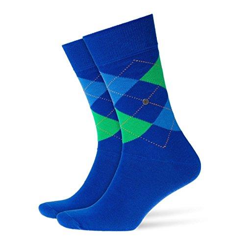 Preisvergleich Produktbild Burlington Herren Socken King 4er Pack ,  Größe:46-50;Farbe:Royal Blue (6052)
