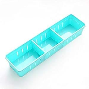 Adjustable Drawer Storage Organizer Kitchen Cutlery Partition Divide Cabinet Box