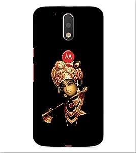 ifasho Designer Phone Back Case Cover Motorola Moto G4 :: Moto G (4th Gen) ( Stunt Rider Bike Cycle Racer )