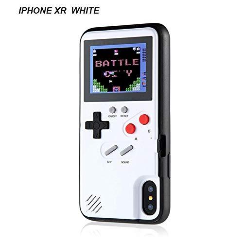 -Hülle, iPhone-Case-Spielkonsole mit 36   kleinen Spielen, Farbbildschirm, Retro 3D-Gameboy-Design für iPhone XS/X/XM/XR, iPhone8 / 8 Plus, iPhone 7/7 Plus, iPhone 6 / 6Plus ()