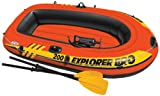 Intex Explorer Pro 200, 2-Person Inflatable Boat Set with...