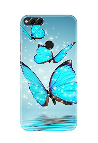 cheap for discount c95d6 d214b Hupshy Huawei Honor 7X Cover/Huawei Honor 7X Back Cover/Huawei Honor 7X  Designer Printed Back Case & Covers (1P81)