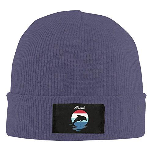 Beach Dolphin Souvenir Skull Hats Knit Cap Winter Warm Cap Beanie Hats ()