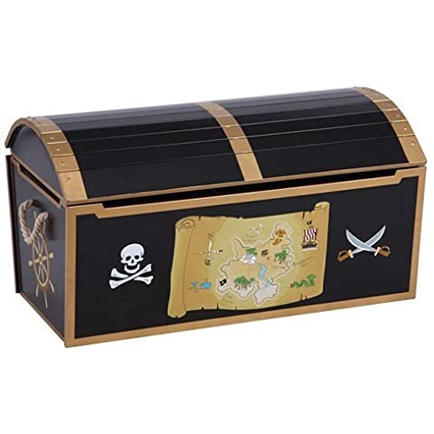 Pirate Treasure Chest Toy Box by Guidecraft