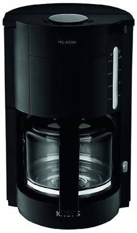 Krups F30908 Krups ProAroma Glas-Kaffeemaschine, 10 Tassen, 1.050 W im