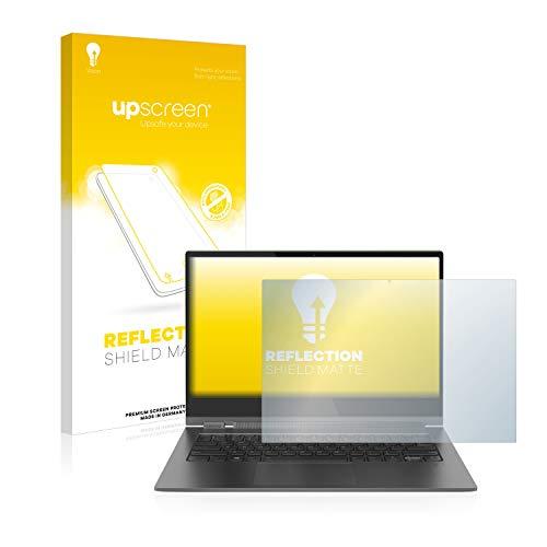 upscreen Entspiegelungs-Schutzfolie kompatibel mit Lenovo Yoga C930 - Anti-Reflex Bildschirmschutz-Folie Matt