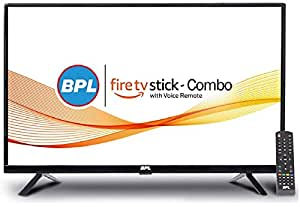 BPL 32 inch LED TV with Amazon Fire TV Stick  I Smart Combo (Black)